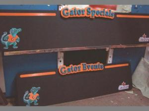Gator Teds with 3 D