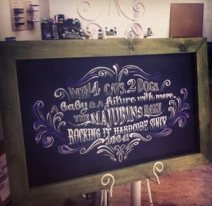 Home Chalkboard